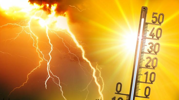 Die extreme Hitze lässt das Unwetter-Risiko ansteigen. (Foto)