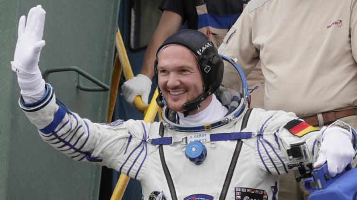 Alexander Gerst meldet sich an diesem Wochenende per Live-Schalte von der ISS.