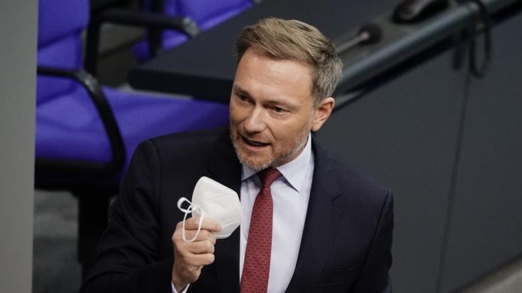 Christian Lindner, Fraktionsvorsitzender und Parteivorsitzender der FDP. (Foto)