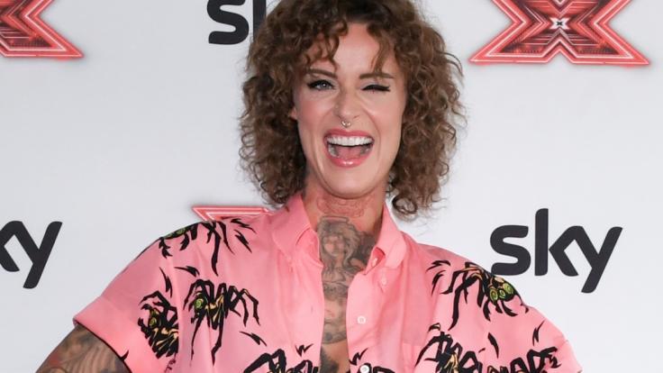 Jennifer Weist wollte eigentlich ihre neue Frisur zeigen.