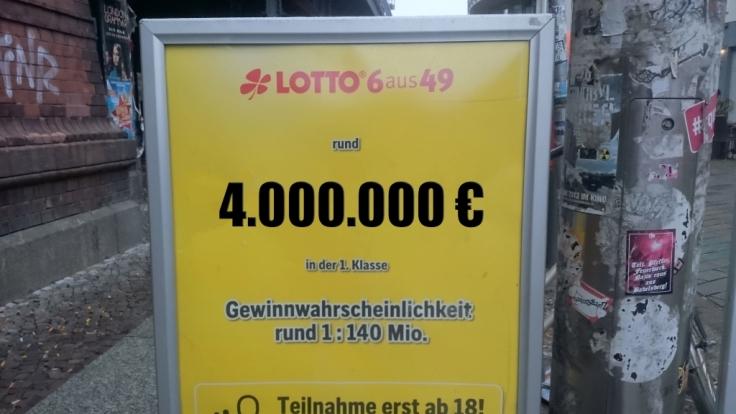Lotto am Samstag - Informationen zu den aktuellen Lottozahlen, Gewinnwahrscheinlichkeit und Spiel 77, Super 6. (Foto)