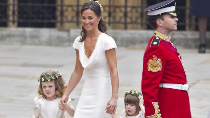 Pippa Middleton darf sich wohl bald um ihre eigenen Kinder kümmern. (Foto)