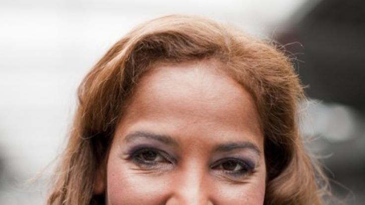 Nadja abd el Farrags gehören mittlerweile zu ihren Markenzeichen. (Foto)