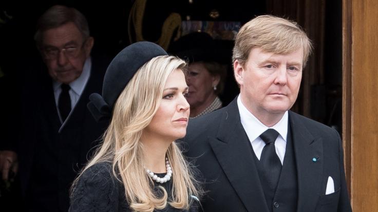 Auch Königin Maxima bedauert den Verlust einer Schwester (Foto)