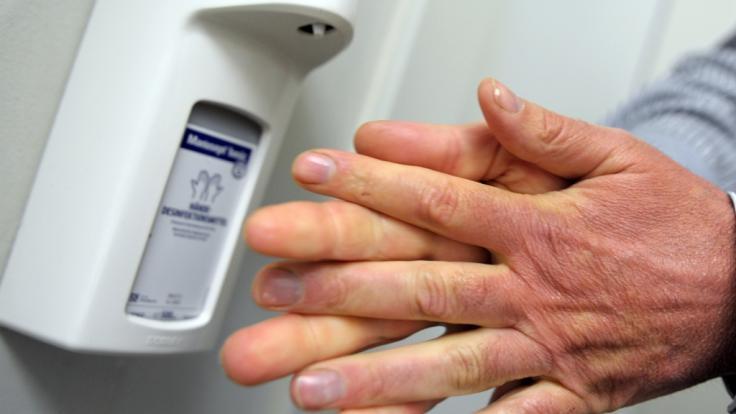 Experten warnen vor dem falschen Gebrauch von Desinfektionsmitteln. (Foto)