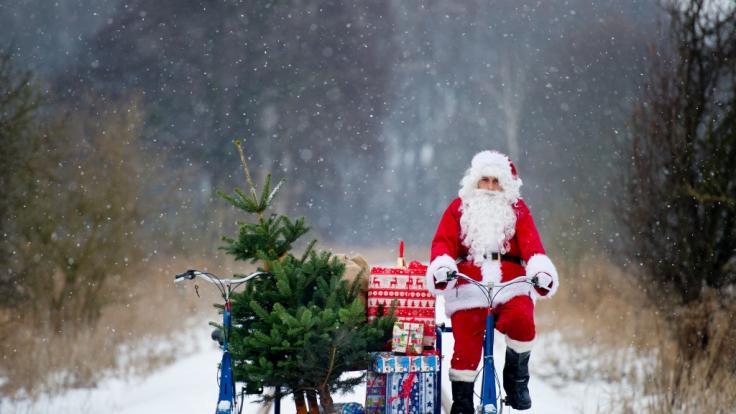 Wird der Weihnachtsmann in diesem Jahr durch den Schnee fahren müssen? (Foto)