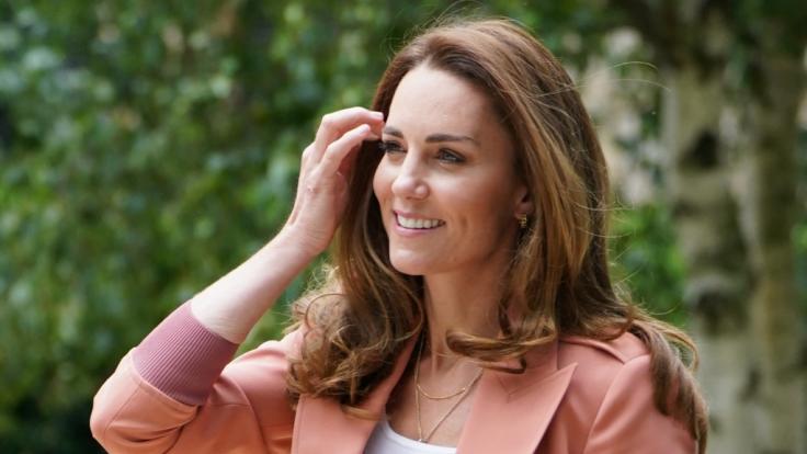 Kate Middleton befindet sich aktuell in Corona-Quarantäne. (Foto)