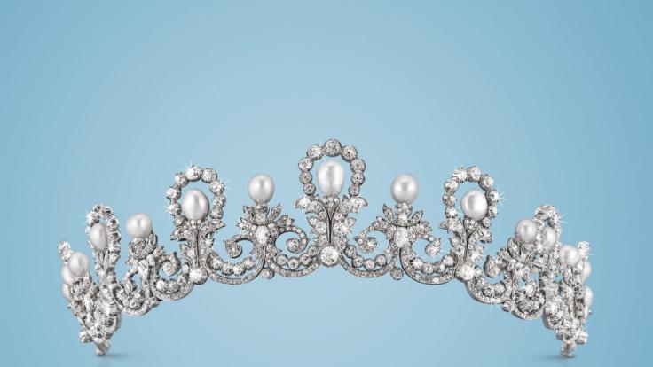 Das Diadem von Erzherzogin Marie Valerie wurde um 1890/95 von Wilhelm Haarstrick entworfen. (Foto)