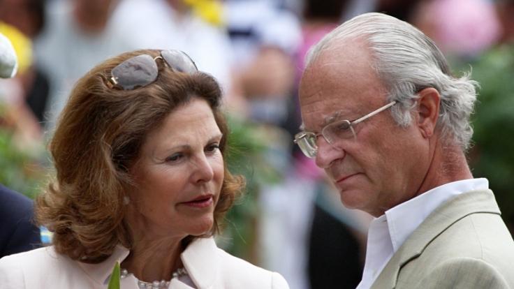 Silvia und Carl Gustaf von Schweden (Foto)