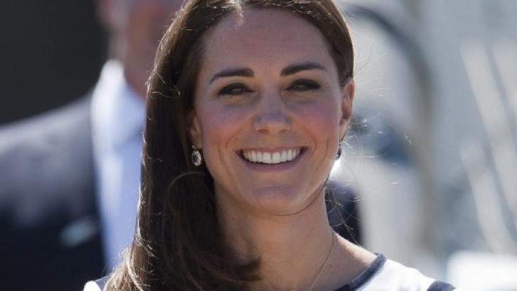 Nicht jeder Look bringt Herzogin Kate zum Strahlen.