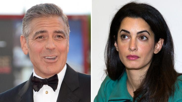 Der ewige Junggeselle kommt unter die Haube: George Clooney wird Amal Alamuddin noch in diesem Sommer heiraten.
