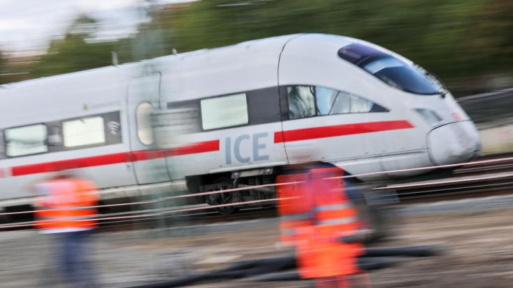 Nur knapp entging die Bahn Anfang Oktober einem Anschlag. (Symbolbild)