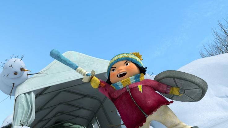 Snowsnaps' Winterspiele bei KiKA (Foto)