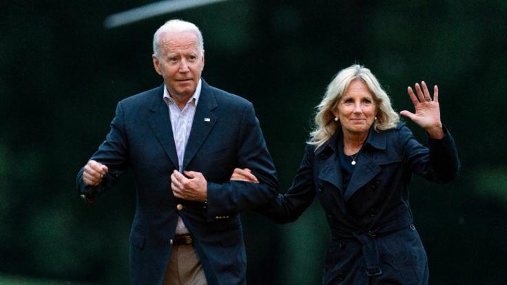 Schwere Vorwürfe gegen Jill Biden! Laut eines Politikers soll die First Lady sich grausam gegenüber ihrem Ehemann Joe Biden verhalten. (Foto)