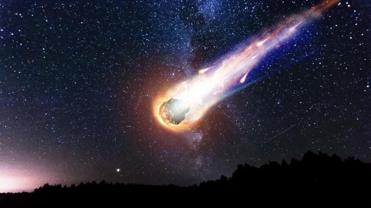 Ein Meteorit hätte die Frau beinahe im Schlaf erschlagen. (Foto)
