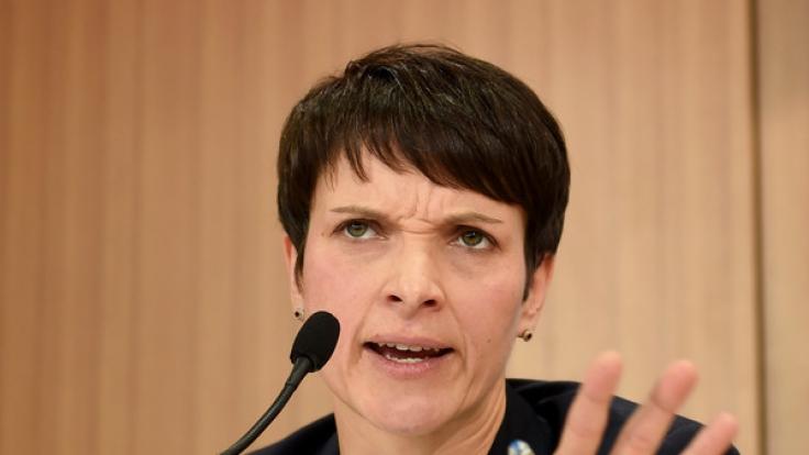 Hat zum Treffen der europäischen Rechtspopulisten in Deutschland geladen: AfD-Chefin Frauke Petry. (Foto)