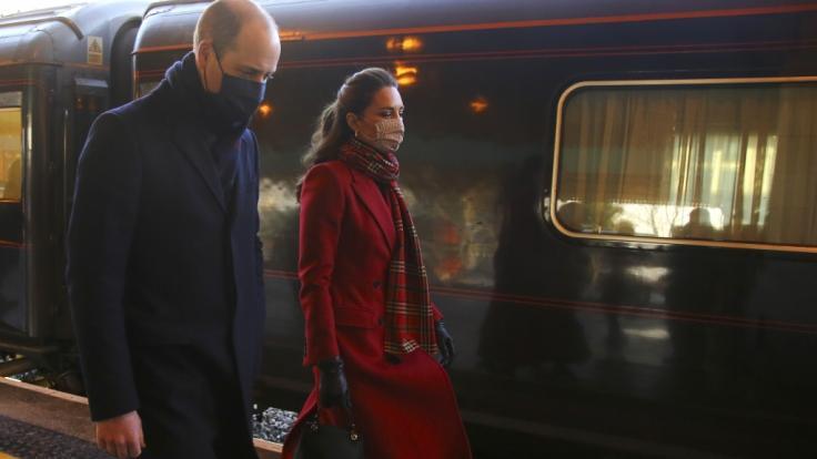 Keine Ruhe für Prinz William und Kate Middleton. (Foto)