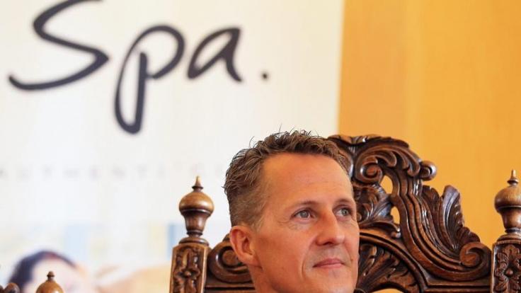 2012 wird Michael Schumacher zum Ehrenbürger der belgischen Stadt Spa gekürt.