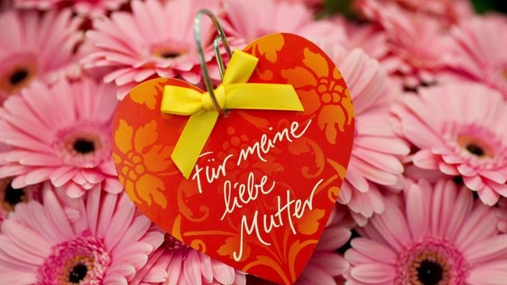 Mutti ist die Beste: Am 10. Mai ist Muttertag.