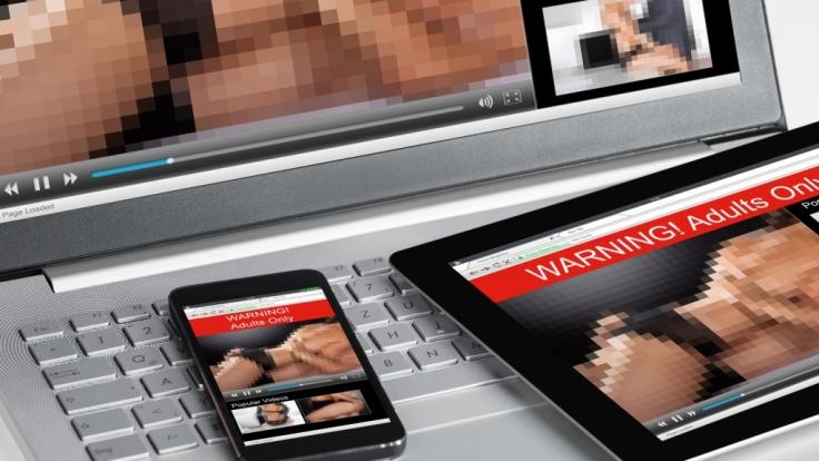 Pornos sollte man nicht auf dem Smartphone schauen.