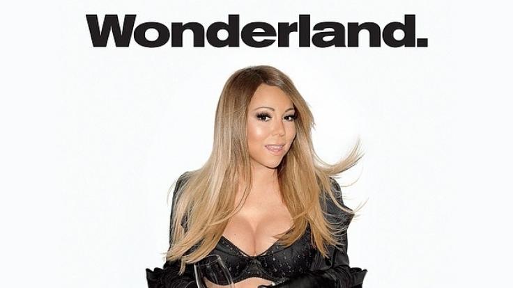 So sexy zeigt sich Mariah Carey für das «Wonderland Magazine».
