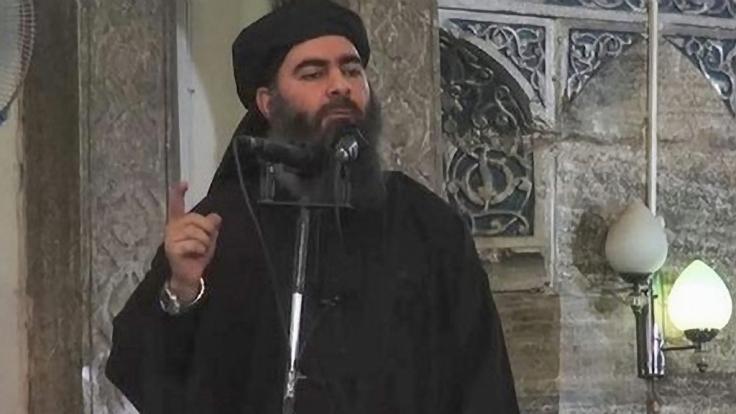 Abu Bakr al-Baghdadi, der selbst ernannte Kalif des Islamischen Staates.