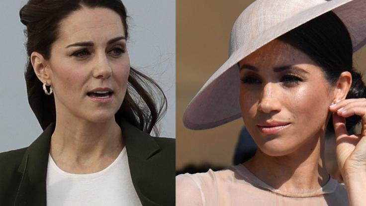 Auch in dieser Woche fanden sich Kate Middleton und Meghan Markle mehr als einmal in den Schlagzeilen wieder.
