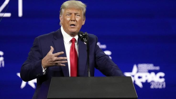 Donald Trump glaubt, er ist schon bald zurück im Weißen Haus. (Foto)