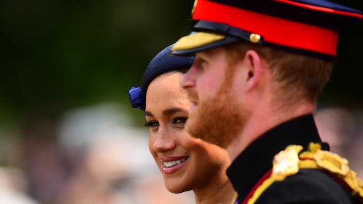 Prinz Harry hat seine Frau öffentlich zurechtgewiesen. (Foto)