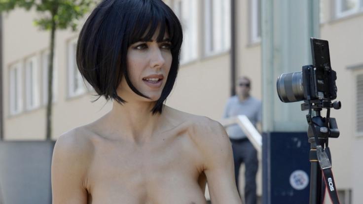 Für Milo Moiré ist Nacktheit das Normalste der Welt. (Foto)