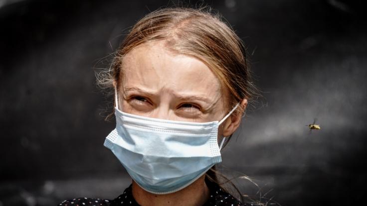 Greta Thunberg hat ihre erste Corona-Impfung erhalten. (Foto)