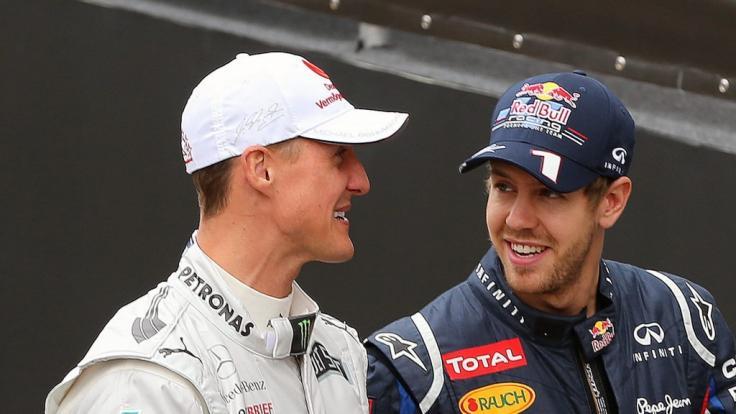 Sebastian Vettel vermisst Formel-1-Rekordweltmeister Michael Schumacher als Ratgeber.