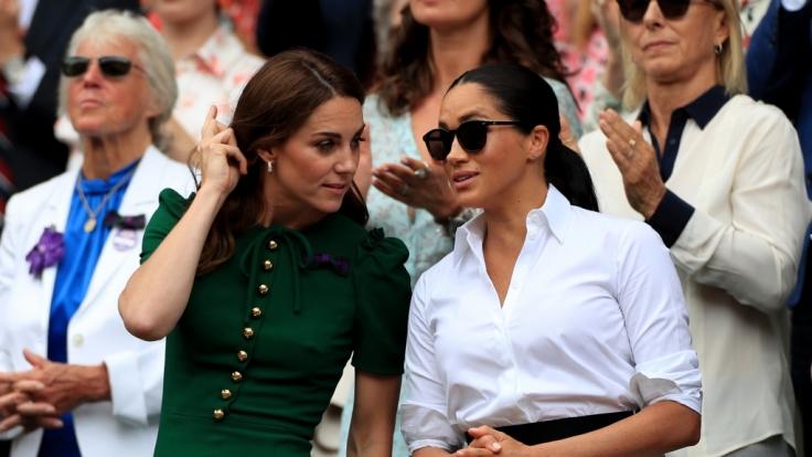 Kate Middleton und Meghan Markle in den Royal-News. (Foto)