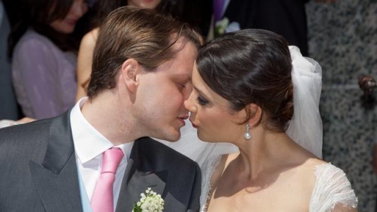 Nach ihrer Hochzeit im Mai 2012 erwarten Charles Graf von Faber-Castell und Ehefrau Melissa bereits ihr zweites Kind. (Foto)