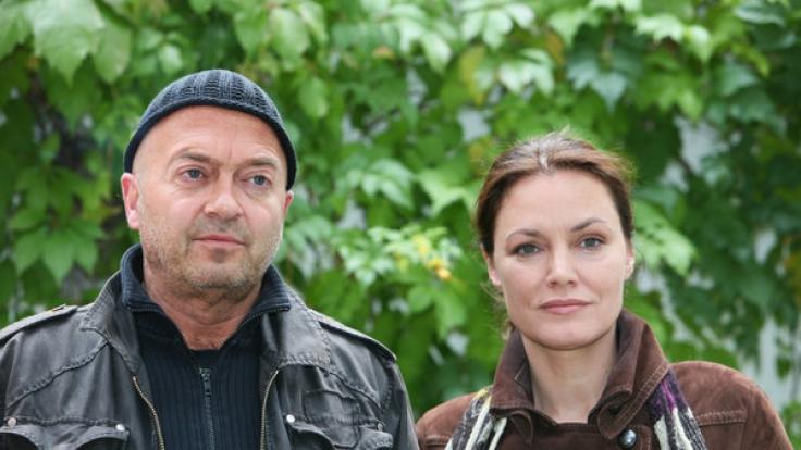 Florian Martens und Maja Maranow bildeten nicht nur vor der Kamera