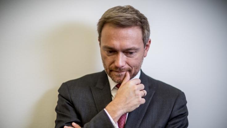 FDP-Chef Christian Lindner weiß um seine Außenwirkung - doch der schönste Politiker Deutschlands ist er trotzdem nicht. (Foto)