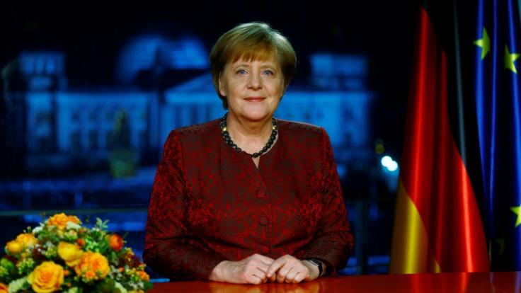 Auch in diesem Jahr hält Bundeskanzlerin Angela Merkel ihre traditionelle Neujahrsansprache (Archivbild). (Foto)