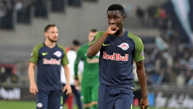 Borussia Dortmund steht kurz vor der Verpflichtung des malischen Nationalspielers Diadie Samassekou. (Foto)
