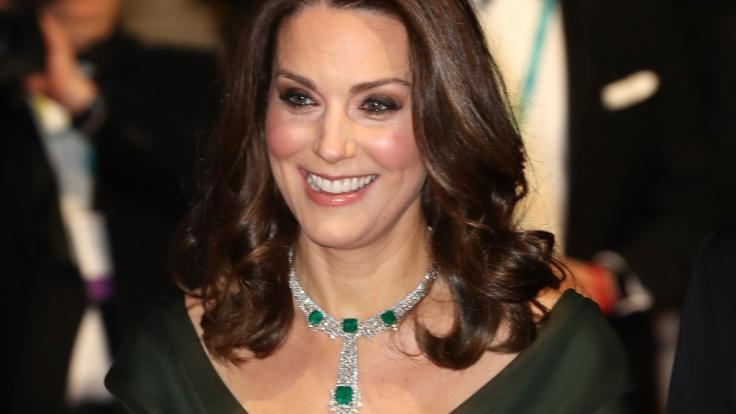 Aus Kate Middleton wurde durch die Hochzeit mit Prinz William Herzogin Kate. (Foto)
