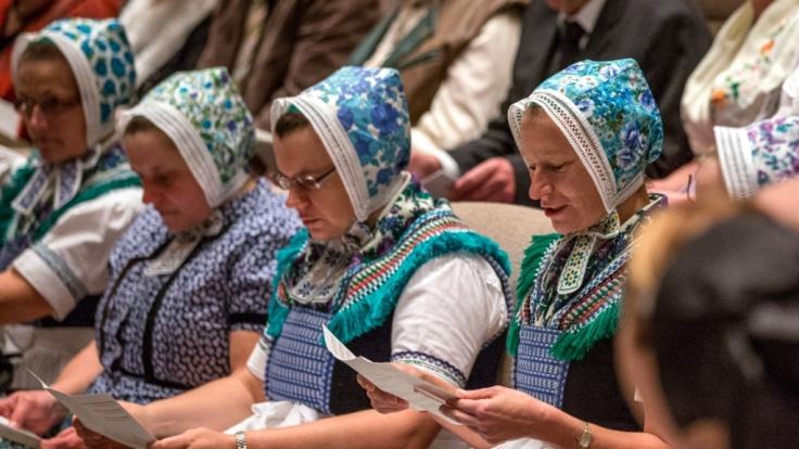 Gesang und Gebet sind für die Sorben zu Ostern besonders wichtig. (Foto)