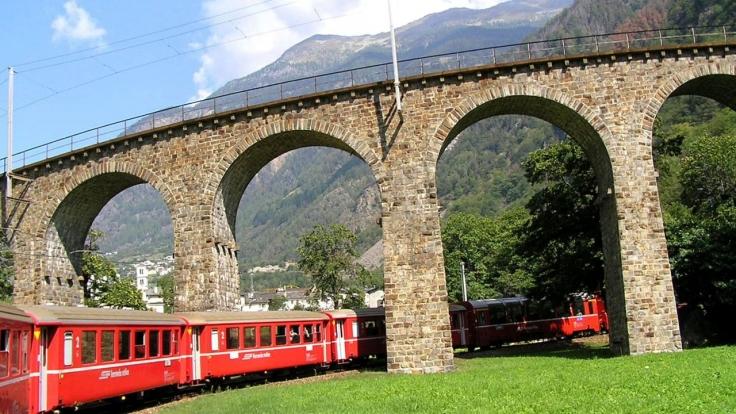 Traumhafte Bahnstrecken der Schweiz II bei 3sat (Foto)