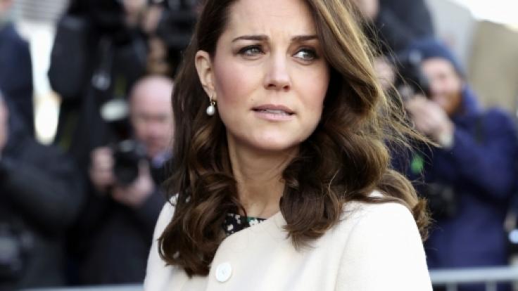 In wenigen Wochen kommt das dritte Kind von Kate Middleton zur Welt. (Foto)