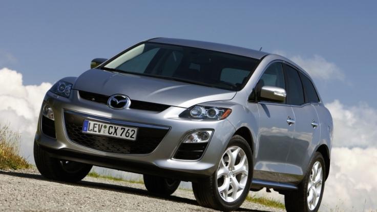 Der Mazda CX-7 erhält erstmal die Stckstoff trennnende Adblue-Technologie. (Foto)