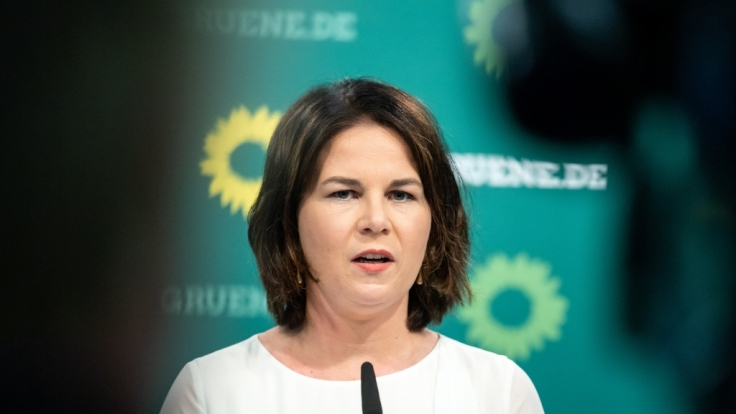Annalena Baerbock sieht sich im Wahlkampf einer regelrechten Hetzjagd gegenüber. (Foto)