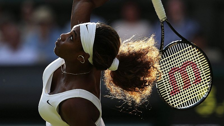 Tiefe Einblicke: Serena Williams.
