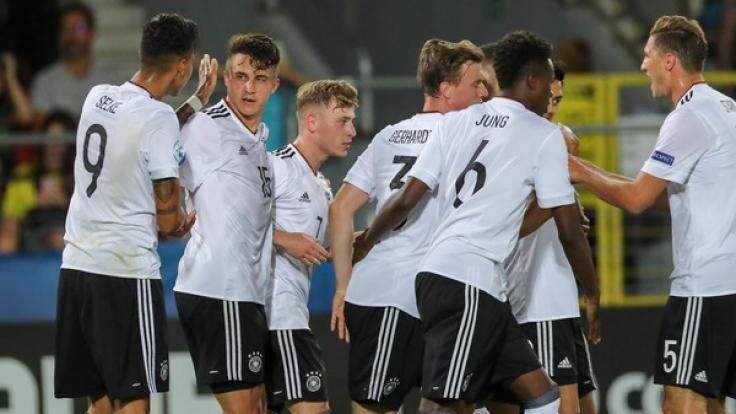 Für die deutsche U21-Auswahl stand am Dienstag das EM-Halbfinale gegen England an. (Foto)