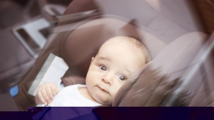 Qualvoller Hitze-Tod: Ein Baby wurde leblos in einem Auto gefunden. (Symbolfoto) (Foto)
