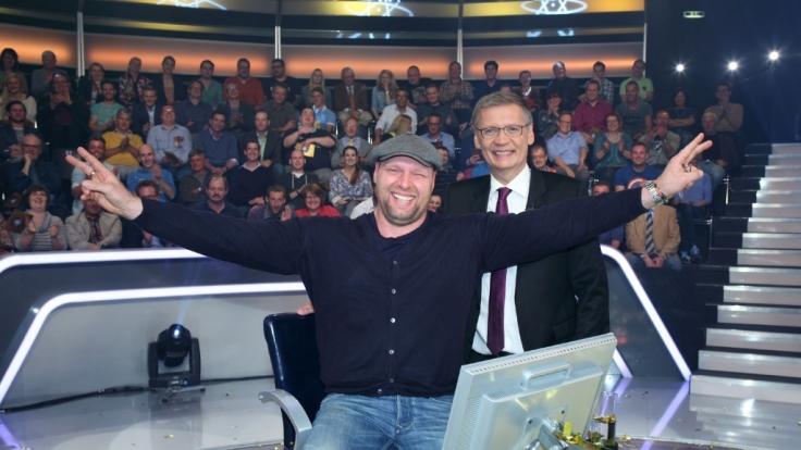 Thorsten Fischer hat es geschafft. Er sahnt eine Million Euro ab. (Foto)