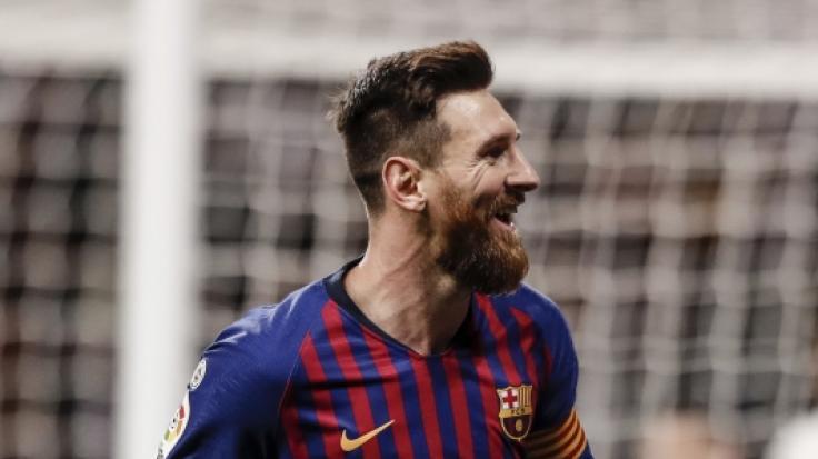 Superstar Lionel Messi jubelt: Barca beschert Real die nächste Niederlage.