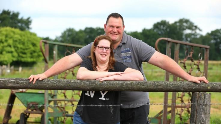 """Torsten und Sandra lernten sich bei """"Bauer sucht Frau"""" kennen - doch ihre Beziehung scheiterte. (Foto)"""